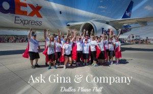 Ask Gina & Company, Dulles Plane Pull