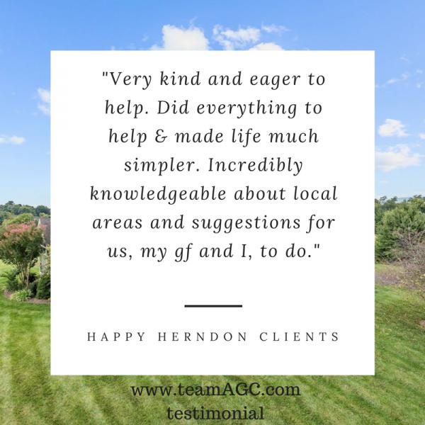 Herndon Client Testimonial